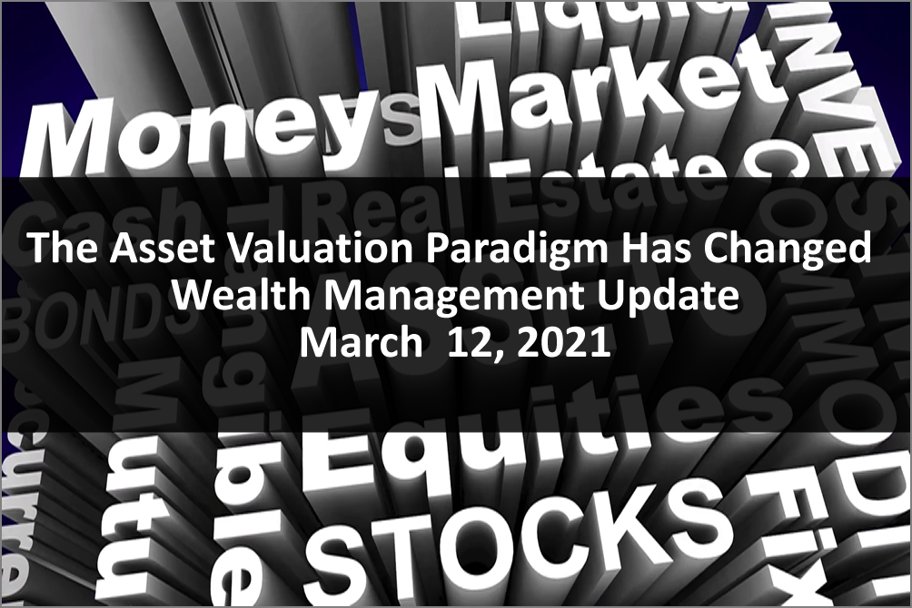Investors Beware: The Asset Valuation Paradigm Changed