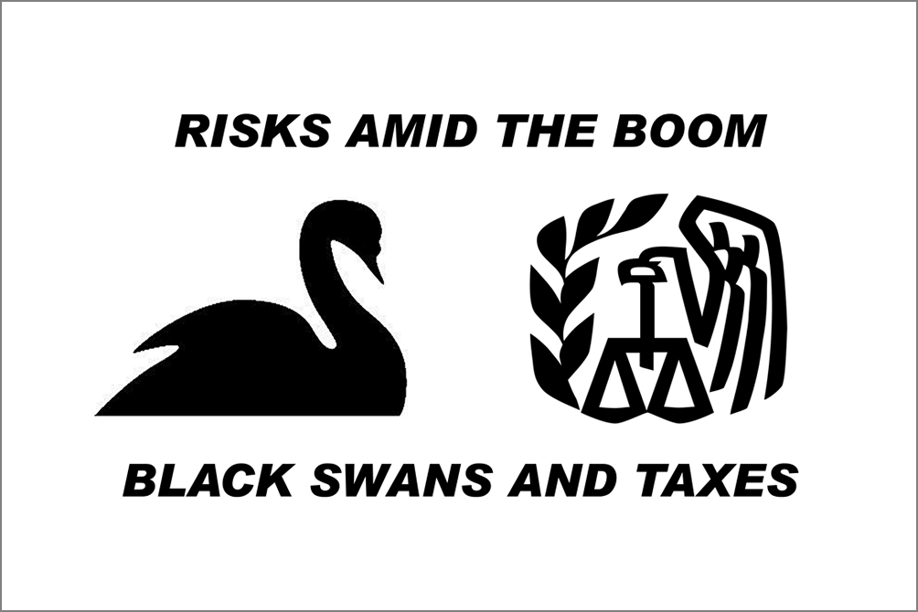 A Black Swan Event And Higher Taxes Persist As Financial Risks Amid The Boom