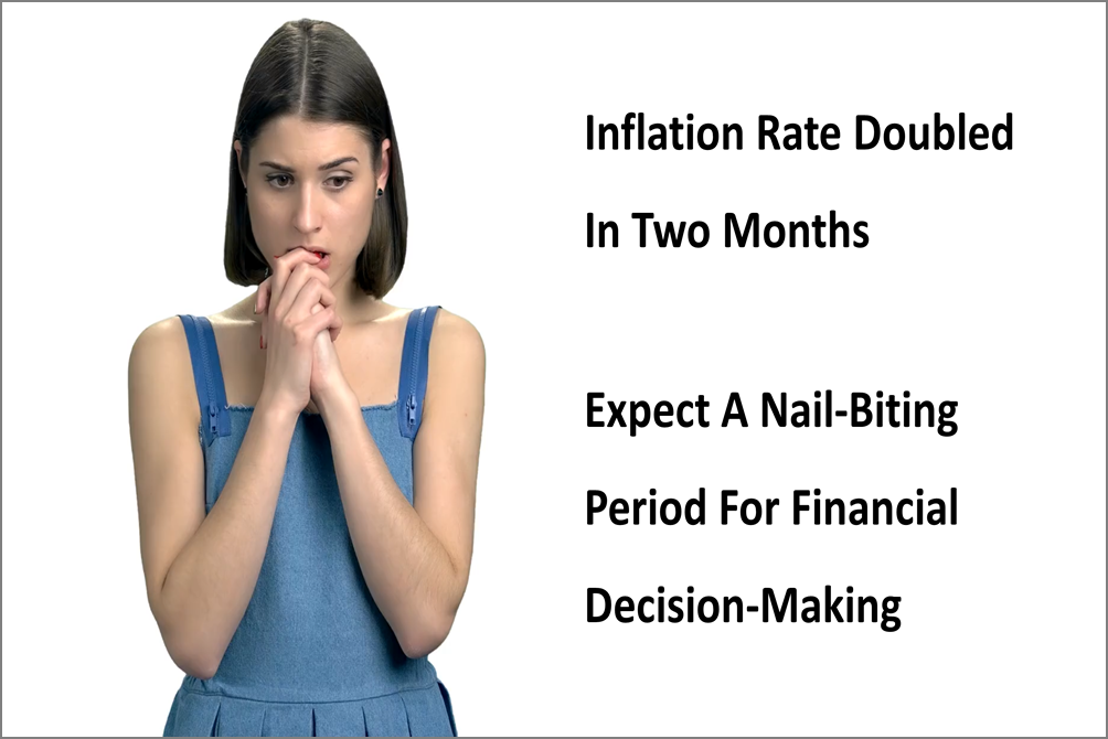 Inflation Rate Doubled In Past Two Months